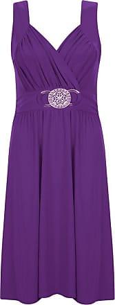 Generic New Womens Sleeveless Buckle Flared Bridesmaid Party Skater Short Length Dress. UK 8-26