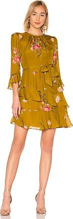 Joie Kayane Dress in Metallic Gold