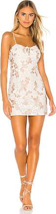 Superdown Lilia Lace Dress in White