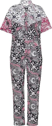 Isabel Marant Udena printed cotton jumpsuit