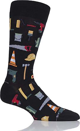 A Rainy Day Cotton Socks Ladies 1 Pair HotSox Artist Collection Paris Street