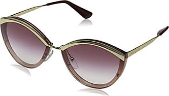 77b5b1dc6c Prada 0PR 07US Gafas de sol, Gold/Pink, 64 para Mujer