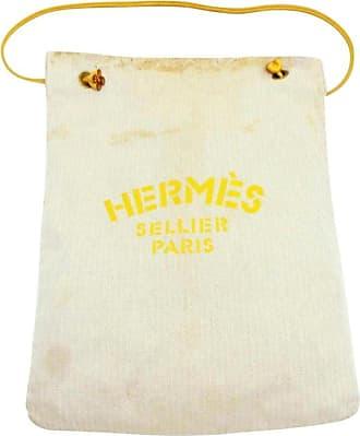 3b902888692c Hermès Yellow Herringbone Aline Grooming 230931 Beige Canvas Tote