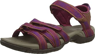 Teva Tira, Women Heels Sandals Open Toe Sandals, Multicolour (Falcon Gloxina Hglx), 8 UK (41 EU)