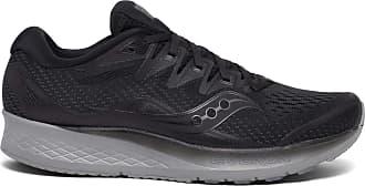 Saucony Mens Ride Iso Sneaker, Black, 10.5 UK