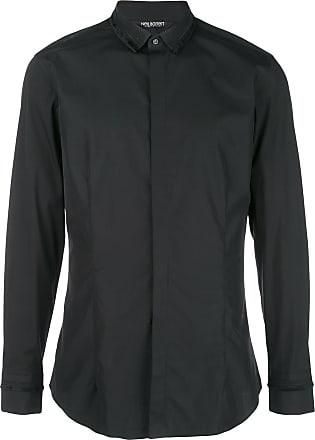 Neil Barrett Camisa slim - Preto