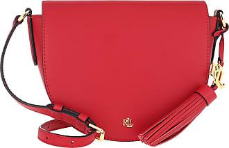 Lauren Ralph Lauren Cross Body Bags - Witley 20 Crossbody Medium Red Navy - red - Cross Body Bags for ladies