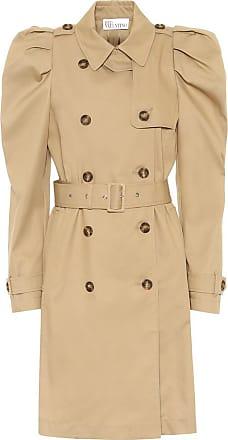 Red Valentino Cotton-blend gabardine trench coat