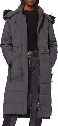 EDC by Esprit edc by ESPRIT Womens 099CC1G030 Coat, Grey (Anthracite 010), S