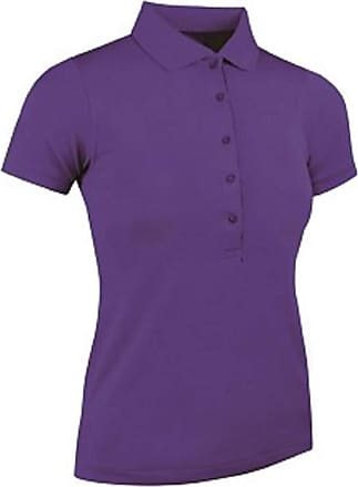 Glenmuir Paloma Womens Performance Piqué Polo Shirt (LSP2540-PALO) (Large - 38/40, Royal Purple)