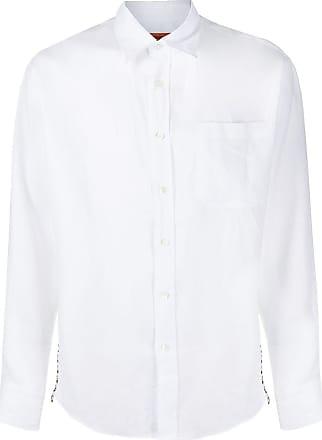 Missoni Camisa de linho com listras - Branco