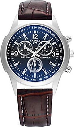 Yazole Relógios de pulso Pulseira de Couro YAZOLE W 271 (1)