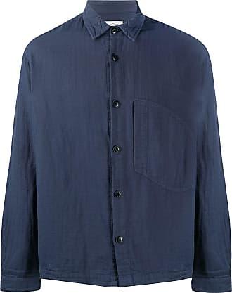 Ymc You Must Create Camisa mangas longas - Azul