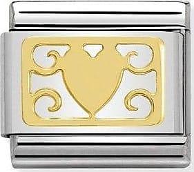 Acotis Limited Nomination Composable Classic Symbols Plates Gold Decorations Plaque L