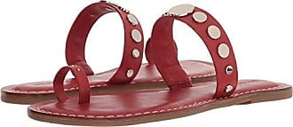 Bernardo Womens Mattie Flat Sandal, red Antique Calf, 6M M US