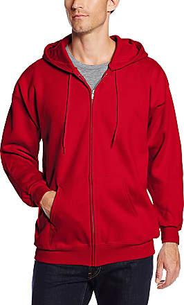 Deep Red Hanes Comfortblend Pullover Hoodie Sweatshirt