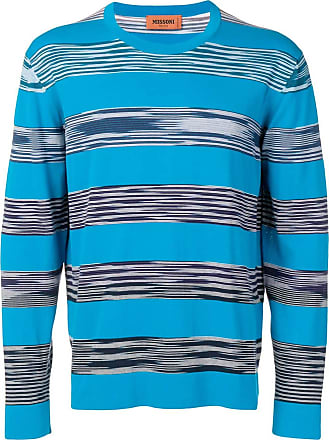 Missoni Suéter com listras - Azul