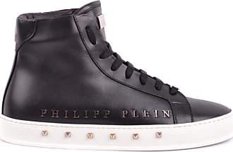 Philipp Plein Fashion Mens SMSC1245PLE075N0291 Black Hi Top Sneakers | Season Outlet