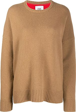 Opening Ceremony knitted bicolour jumper - Brown