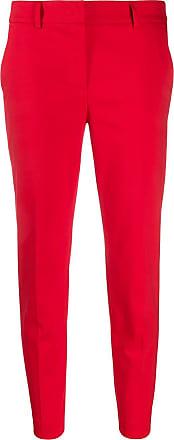 Blanca Calça de sarja slim - Vermelho