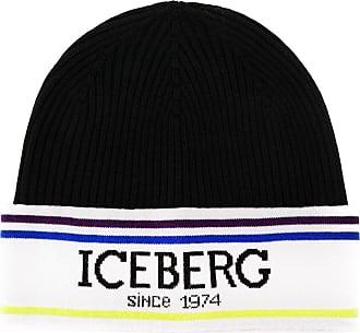 Iceberg Chapéu com logo - Preto