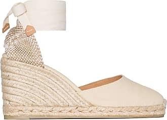 Castaner Fashion | Castaner Woman CARINA8001203 Beige Cotton Wedges | Spring Summer 20