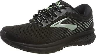 Brooks Womens Ghost 12 GTX Running Shoes, Black (Black/Ebony/Aqua 010), 5.5 UK