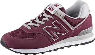 New Balance ML574 Sneaker Herren in burgundy, Größe 44