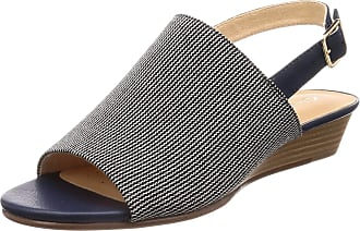 15ee5be0181dc Clarks MENA Lily Textile Sandals in Standard Fit Size 5.5 Navy