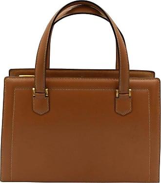 dd38acbad469 Hermès 60s Hermes Vintage Pullman Brown Leather Bag