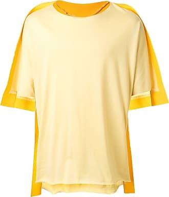Fumito Ganryu Camiseta oversized - Amarelo