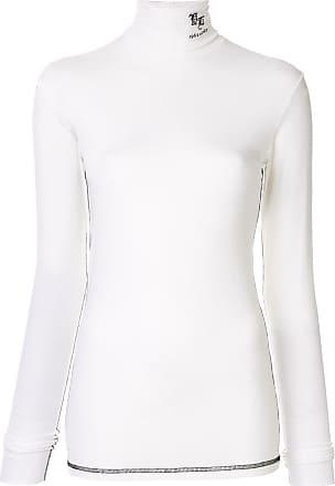 Yang Li Blusa gola alta - Branco