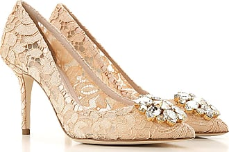 b43558a75 Dolce & Gabbana Pumps & High Heels for Women On Sale, Apricot, Leather,