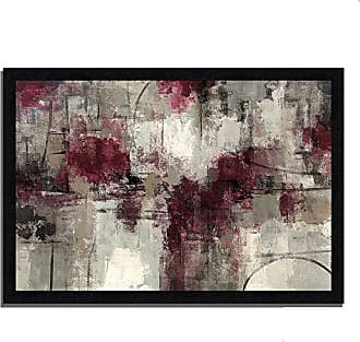 Tangletown Fine Art Stone Gardens by Silvia Vassileva Framed Art Purple/White/Gray
