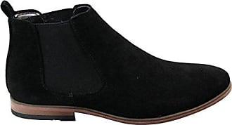 Herrenstiefel Leder Italienisches Design Schwarz Braun