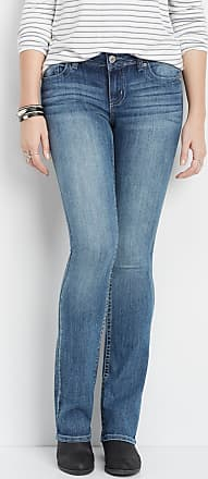 Maurices Denimflex Medium Gray Stitch Slim Boot Jean