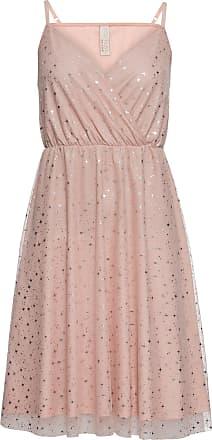 BODYFLIRT boutique Dam Klänning med metallictryck i rosa utan ärm - BODYFLIRT  boutique de3bda71fffa8