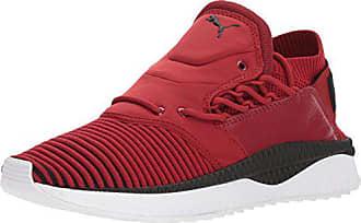 Puma Mens Tsugi Shinsei Evoknit Sneaker red Dahlia Black White a403d96d8