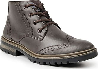 Polo State Bota Dress Boot Masculina Polo State Sabertooth (43, Marrom Escuro)