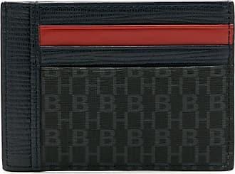 BOSS Porta-cartões de couro - Azul