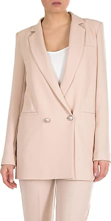 Pinko Goldie 3 double-breasted jacket in beige