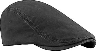 Zhhlaixing Mens Casual Flat Cap Newsboy Berets Hat - Vintage Spring Autumn Sun Protect Hunting Hats Outdoor Caps Black