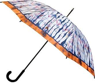 Nicole Miller 48 Inch Fashion Stick Umbrella, On Clouds Print, One Size