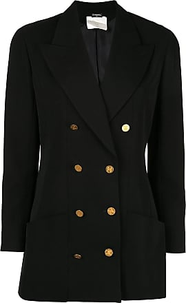 Chanel long sleeve jacket black