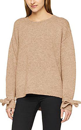 Tommy Hilfiger Marron Pull cropped avec lurex Femme Brown