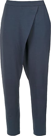 Uma Sintra wrap style trousers - Blue