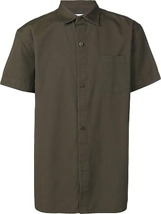 Han Kjobenhavn Camisa mangas curtas com estampa de logo - Verde