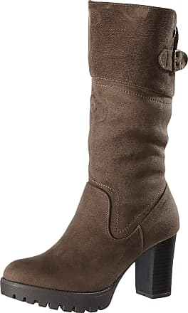 63a2900597c Xti Womenss 063652 Boots Braun (Taupe) 6 UK