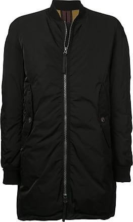 Ziggy Chen padded midi coat - Black