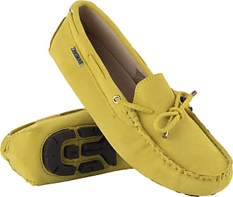 Zerimar Moccasins Womens Shoes | Loafers for Women | Leather Flats Women | Casual Moccasin Loafer Leather Yellow
